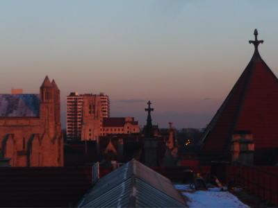 Roofs and crosses