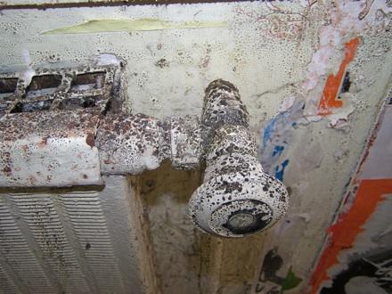 decrepit radiator