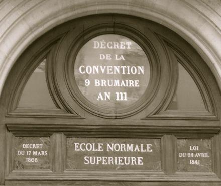 Place: Ecole Normale Supérieure – 45 rue d'Ulm, 75005 Paris