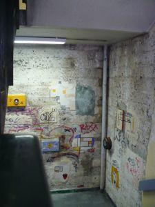 paris 8 stairwell graffiti